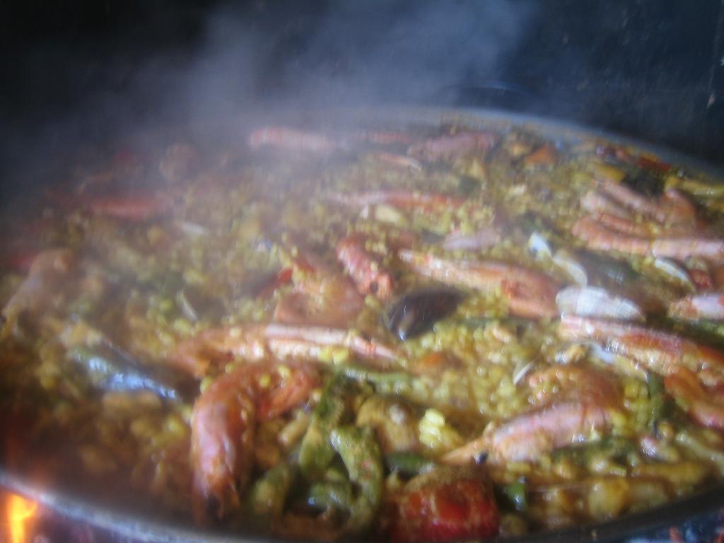 Paella de maricos receta de nieves aprende cocina - Cocina con sara paella ...