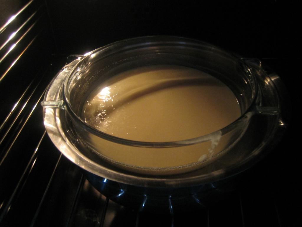Flan de queso y miel aprende cocina - Flan a bano maria ...